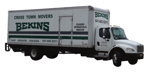 cross town movers local truck photo