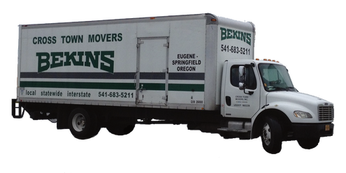 cross town movers boise local truck photo