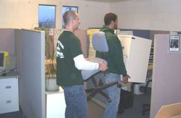 coos bay office movers crew photo